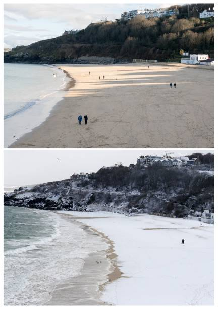 COMPOSITE: Spring Weather Replaces Arctic Freeze In Cornwall:ニュース(壁紙.com)