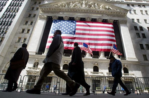 Street「Dow Rebounds Slightly Amid Uncertainty On Wall Street」:写真・画像(3)[壁紙.com]
