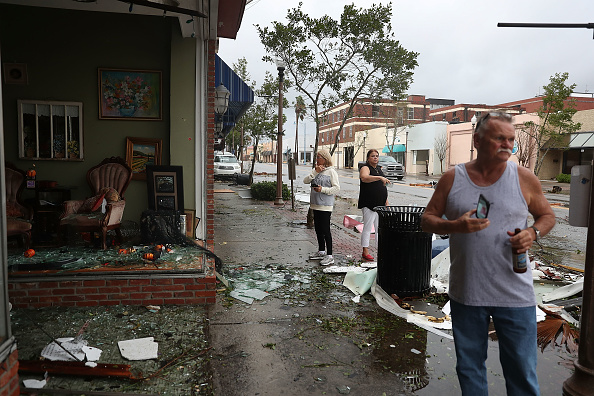 Joe Raedle「Hurricane Michael Slams Into Florida's Panhandle Region」:写真・画像(16)[壁紙.com]