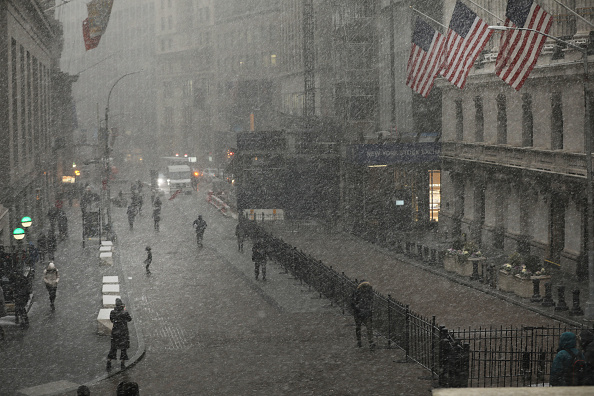 Snow「Arctic Air Chills New York City」:写真・画像(4)[壁紙.com]