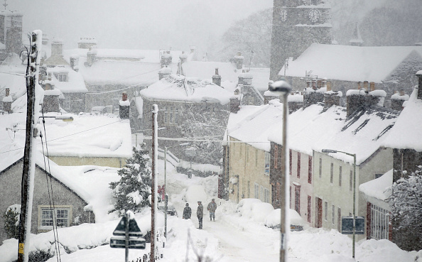 イギリス「Severe Weather Conditions Continues To Disrupt The Whole Of The UK」:写真・画像(15)[壁紙.com]