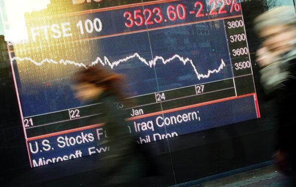Trader「London's FTSE 100 Index Falls」:写真・画像(9)[壁紙.com]