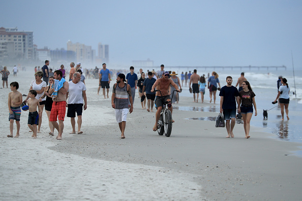 Jacksonville Beach「Jacksonville, Florida Re-Opens Beaches After Decrease In COVID-19 Cases」:写真・画像(12)[壁紙.com]