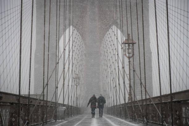 International Landmark「Massive Winter Storm Brings Snow And Heavy Winds Across Large Swath Of Eastern Seaboard」:写真・画像(5)[壁紙.com]