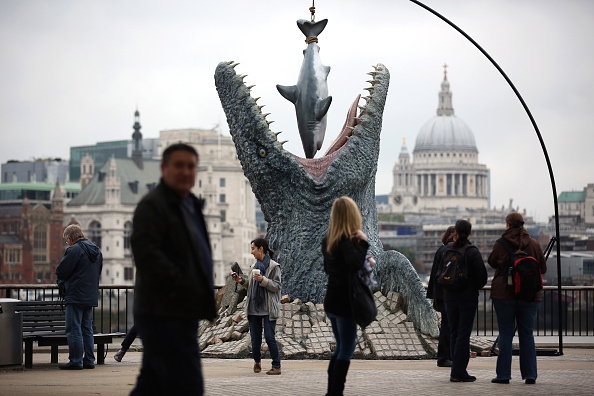 ヒューマンインタレスト「Prehistoric Creature In Central London Launches Jurassic World Film On DVD」:写真・画像(15)[壁紙.com]