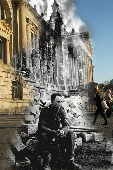 Composite Image「70 Years Since WW2: Overlay Images Show Then And Today」:写真・画像(5)[壁紙.com]