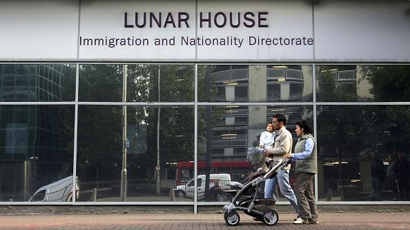 パスポートスタンプ「Lunar House Immigration Centre」:写真・画像(12)[壁紙.com]