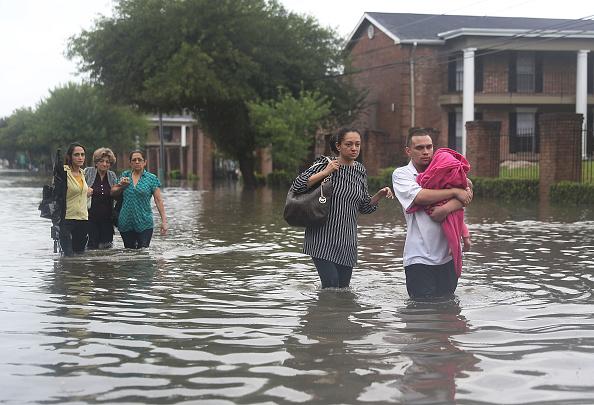 Houston - Texas「Hurricane Harvey Slams Into Texas Gulf Coast」:写真・画像(10)[壁紙.com]