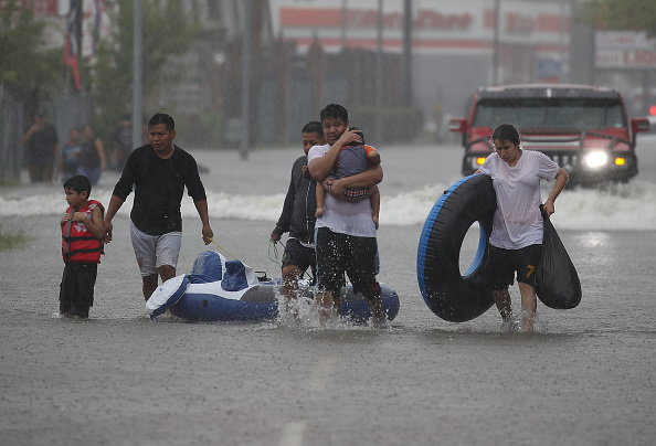 Houston - Texas「Hurricane Harvey Slams Into Texas Gulf Coast」:写真・画像(9)[壁紙.com]