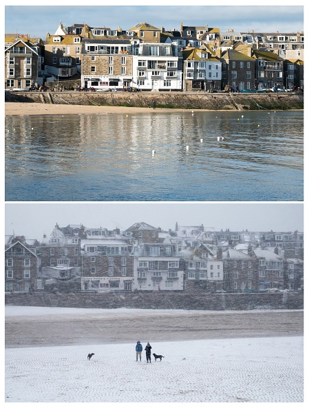Composite Image「COMPOSITE: Spring Weather Replaces Arctic Freeze In Cornwall」:写真・画像(8)[壁紙.com]