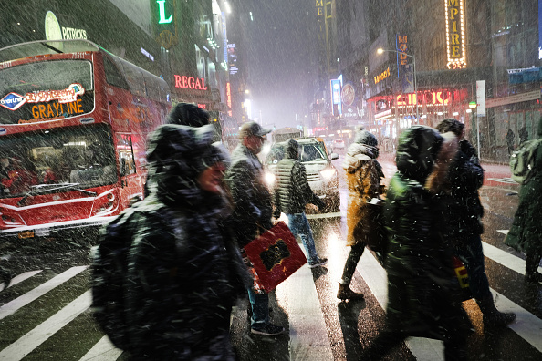 Weather「Winter Storm Brings Ice, Snow, And Rain Through Northeast」:写真・画像(17)[壁紙.com]