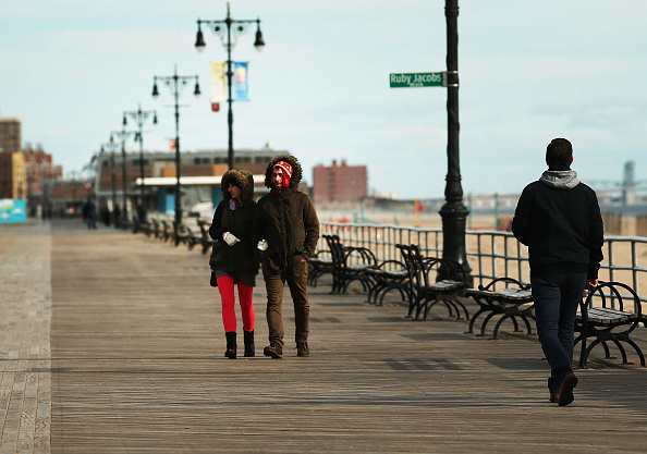 Weather「Near Freezing Temperatures Expected In New York City」:写真・画像(11)[壁紙.com]