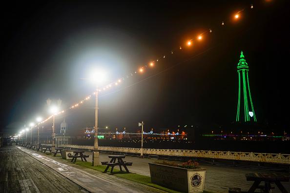 Lancashire「140 Year Old Blackpool Illuminations Go Ahead Despite Pandemic」:写真・画像(1)[壁紙.com]