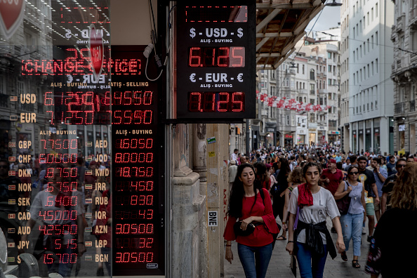 Economy「Lira Weakens As Turkey's Rift With U.S Continues」:写真・画像(5)[壁紙.com]