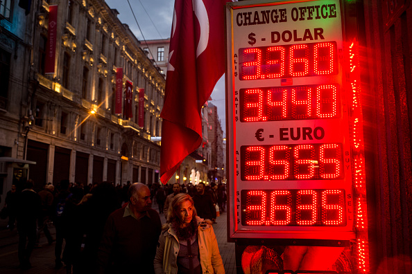 Economy「Turkish Lira Continues To Fall As EU Suspends Turkey's Membership Talks」:写真・画像(18)[壁紙.com]