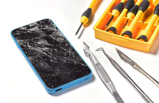 Accidents and Disasters「Smashed/broken mobile phone repair」:スマホ壁紙(11)