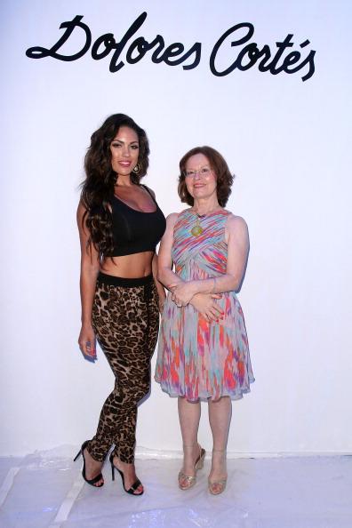 Gulf Coast States「Dolores Cortes At Mercedes-Benz Fashion Week Swim 2014 - Backstage」:写真・画像(8)[壁紙.com]