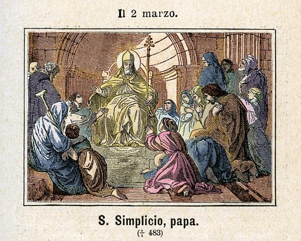 Fototeca Storica Nazionale「Saint Simplicio Pope」:写真・画像(15)[壁紙.com]