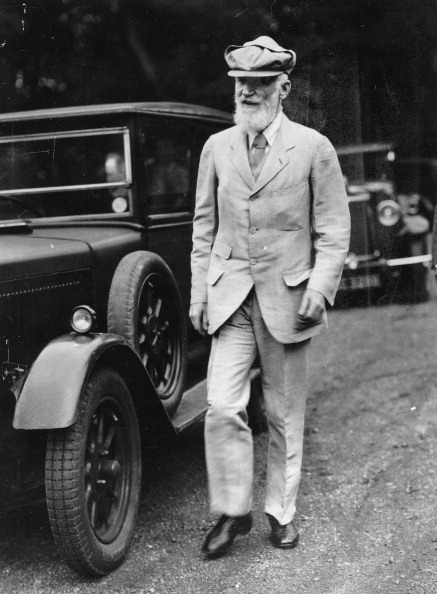 Unrecognizable Person「George Bernard Shaw」:写真・画像(3)[壁紙.com]