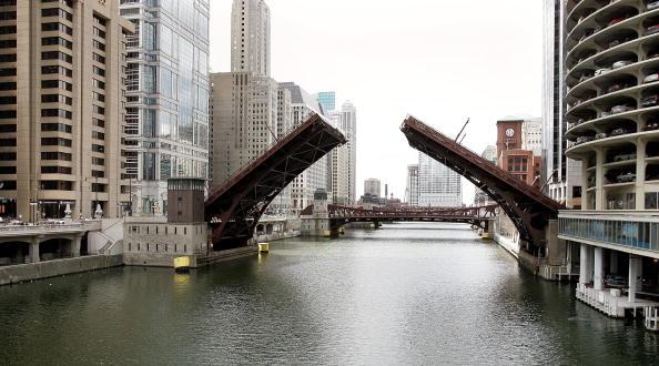 Bridge - Built Structure「Bridges Of The Chicago River」:写真・画像(15)[壁紙.com]