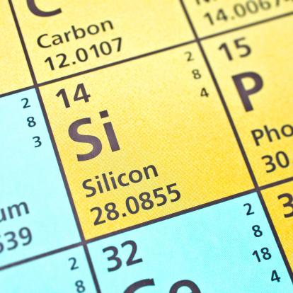 Silicon「Silicon on periodic table」:スマホ壁紙(8)