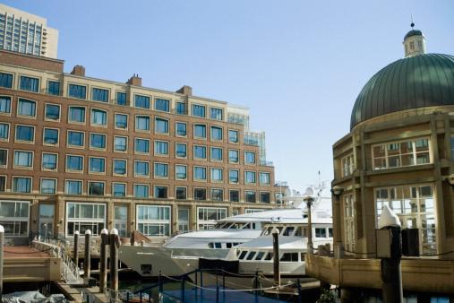Passenger「Building along a wharf, Rowes Wharf, Boston, Massachusetts, USA」:スマホ壁紙(7)