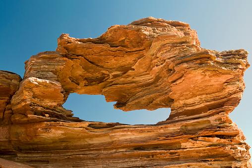 Nature's Window「Nature's Window Natural Rock Formation, Western Australia」:スマホ壁紙(12)