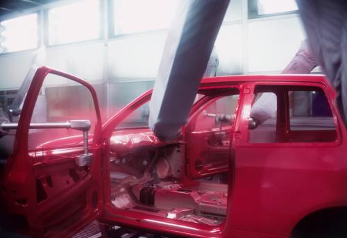 Spraying「Automobile Factory」:スマホ壁紙(13)