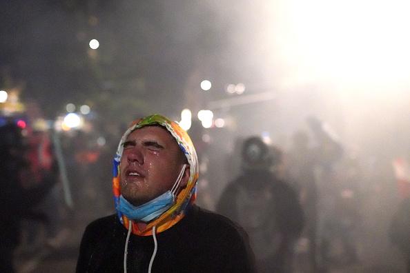 Oregon - US State「Feds Attempt To Intervene After Weeks Of Violent Protests In Portland」:写真・画像(5)[壁紙.com]