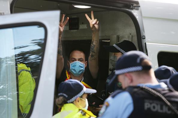 Lisa Maree Williams「Black Lives Matter Activists Attend Unauthorised Rally In Sydney」:写真・画像(2)[壁紙.com]