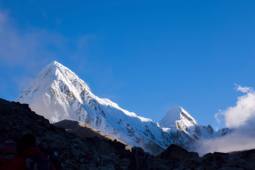 Khumbu「View of Pumo Ri, Nepal」:スマホ壁紙(0)