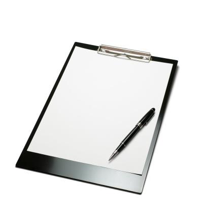 Checklist「Clipboard with Pen」:スマホ壁紙(18)