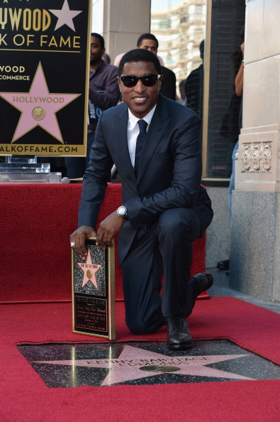 "Walk Of Fame「Kenny ""Babyface"" Edmonds Honored On The Hollywood Walk Of Fame」:写真・画像(8)[壁紙.com]"
