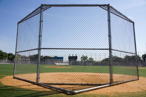 柵「Batting cage」:スマホ壁紙(0)