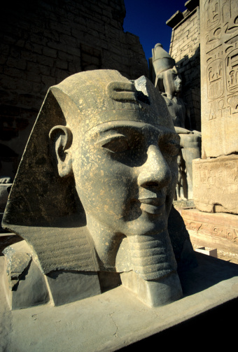 UNESCO「Temple of Luxor, Ramesses II Statue, Luxor, Egypt」:スマホ壁紙(12)