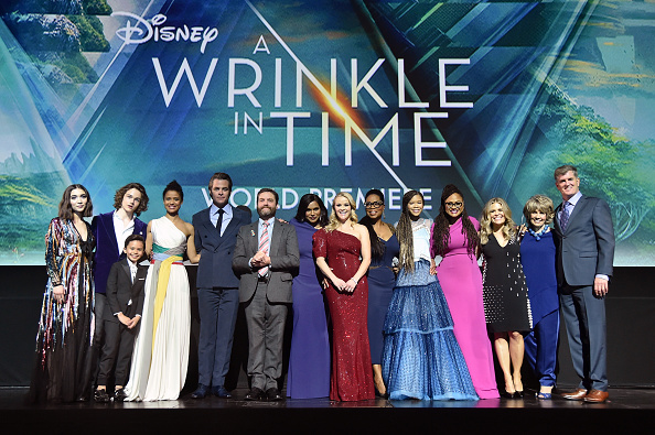 A Wrinkle in Time「World Premiere of Disney's 'A Wrinkle In Time'」:写真・画像(0)[壁紙.com]