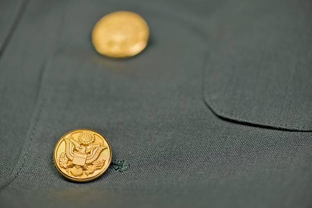 US Army Jacket Eagle Buttons:スマホ壁紙(壁紙.com)