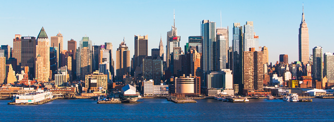 Pier「empire state building and west side of manhattan」:スマホ壁紙(9)