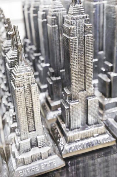 Empire State Building souvenir, New York city, New York, USA, North America:スマホ壁紙(壁紙.com)