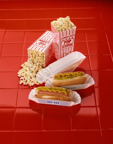 Hot Dog「Hot dogs and popcorn」:スマホ壁紙(4)