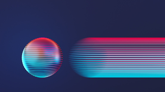 Light Trail「Retro styled glowing sphere」:スマホ壁紙(14)