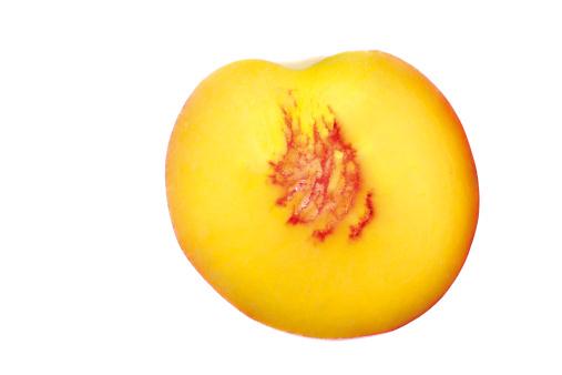 Peach「'Half a peach, elevated view'」:スマホ壁紙(14)