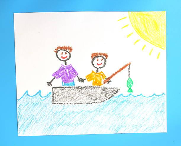 Father and Son Fishing Trip:スマホ壁紙(壁紙.com)
