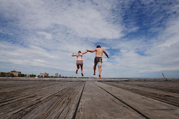 Parent「High Temperatures Hit Melbourne」:写真・画像(8)[壁紙.com]