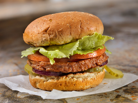 Veggie Burger「The Meatless Burger - 100% Plant Based Protein Burger」:スマホ壁紙(10)