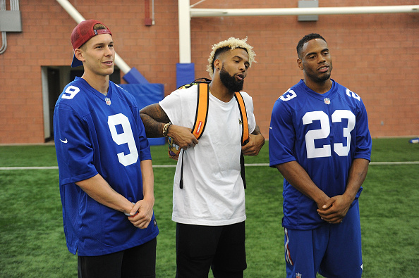 """New York Giants「Nickelodeon and The New York Giants Host Tryouts for the """"Triple Shot Challenge: Kids' Choice Sports $50,000 Perfect Pass Challenge""""」:写真・画像(10)[壁紙.com]"""