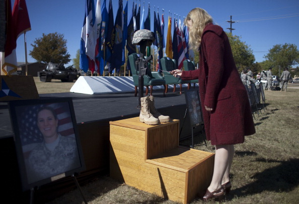 Security「Fort Hood Holds Remembrance Ceremony One Year After Deadly Attack On Base」:写真・画像(7)[壁紙.com]