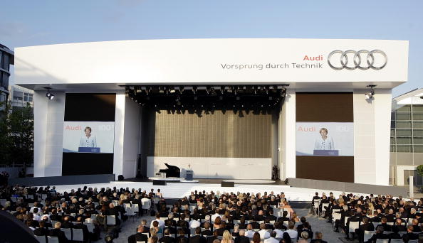 Ingolstadt「Audi Celebrates Centennial」:写真・画像(2)[壁紙.com]