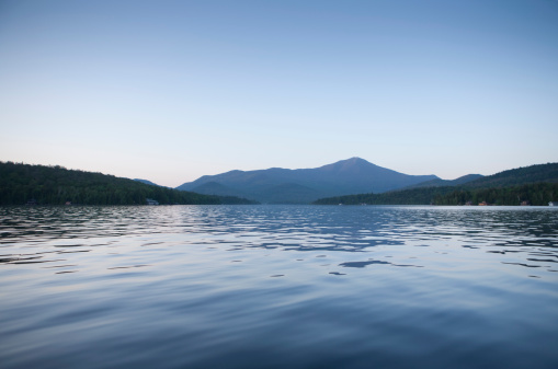 Adirondack Forest Preserve「Whiteface Mountain from Lake Placid」:スマホ壁紙(5)
