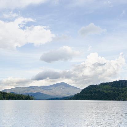 Adirondack Forest Preserve「Whiteface Mountain and Lake Placid Lake」:スマホ壁紙(18)
